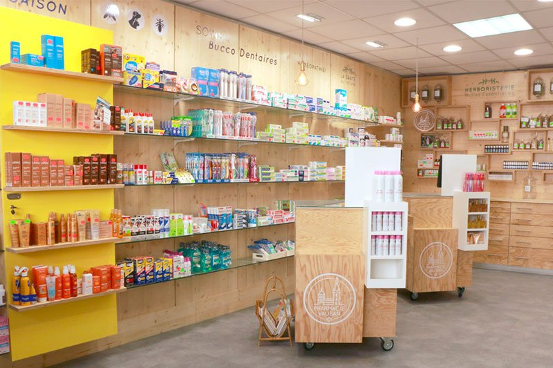 amenagement-interieur-pharmacie-vauban-trait-simple
