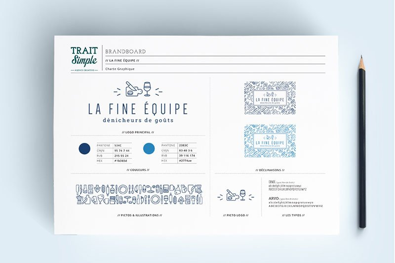 brandboard-fine-equipe-trait-simple