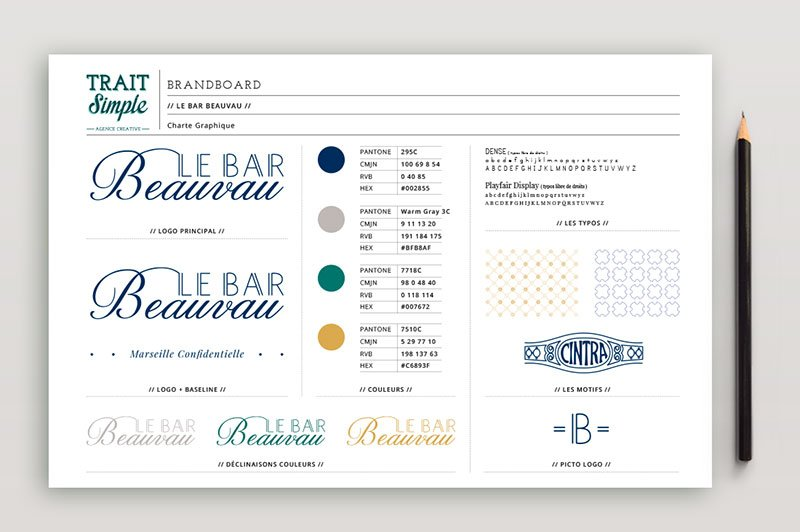 identite-visuelle-brandboard-le-bar-beauvau-trait-simple