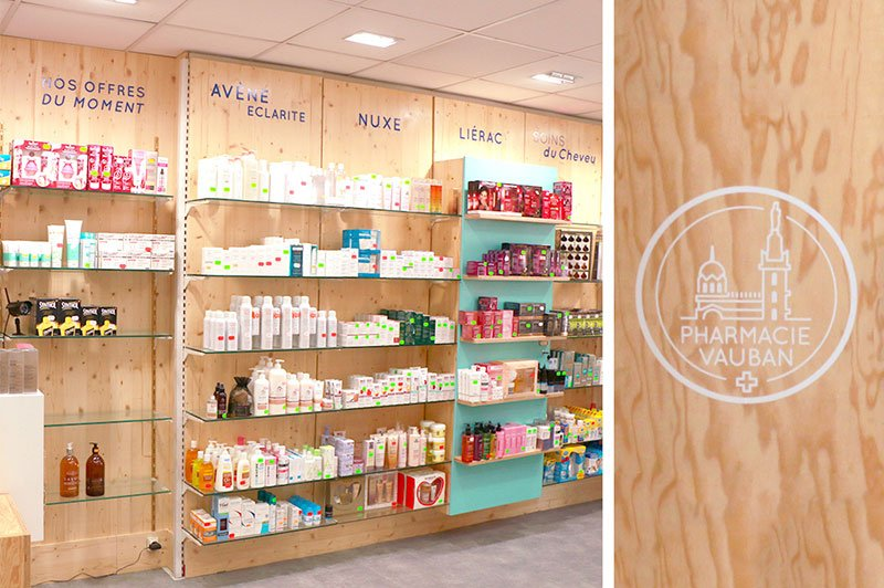 signaletique-interieur-pharmacie-vauban-trait-simple
