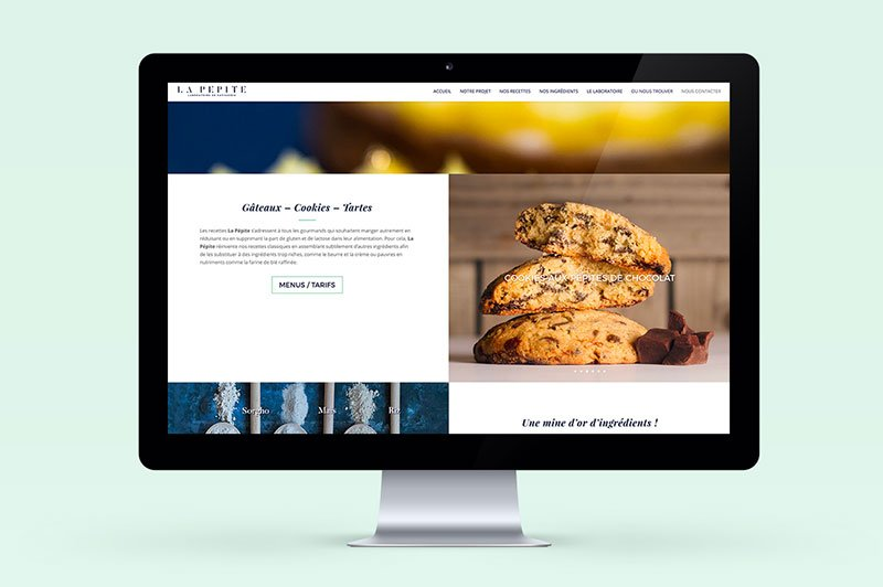 site-web-produits-labo-lapepite-tres-trait-simple-responsive