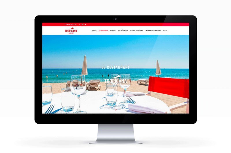 siteweb-responsive-design-home-tropicana-plage-traitsimple