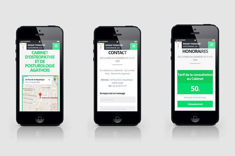 siteweb-responsive-smartphone-contact-design-agde-osteo-sante-trait-simple