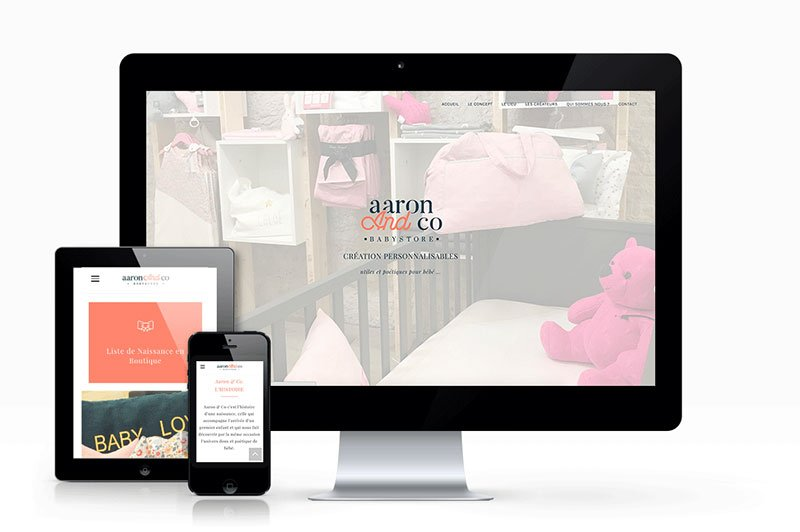 webdesign-home-aaron-and-co-trait-simple