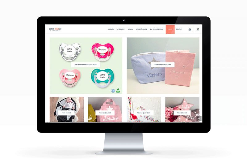 webdesign-woocommerce-responsive-aaron-and-co-trait-simple
