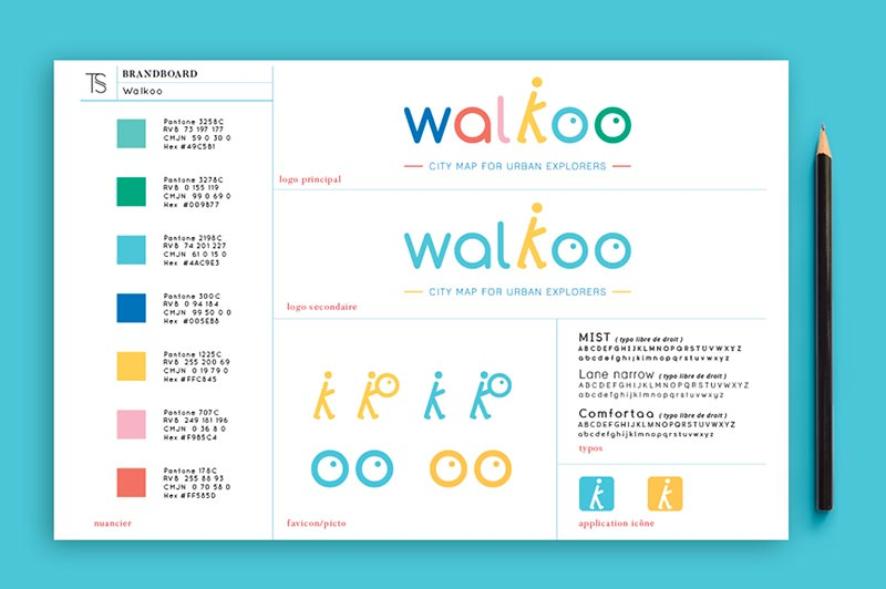 identite-marque-brandboard-trait-simple-walkoo