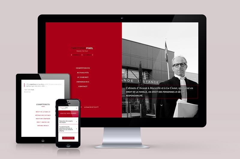 web-design-responsive-siteweb-pinel-avocat-trait-simple
