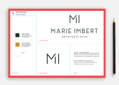 MARIE IMBERT – ARCHITECTE –