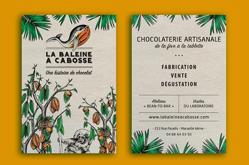 creation-impression-flyers-baleine-cabosse-chocolaterie-traitsimple