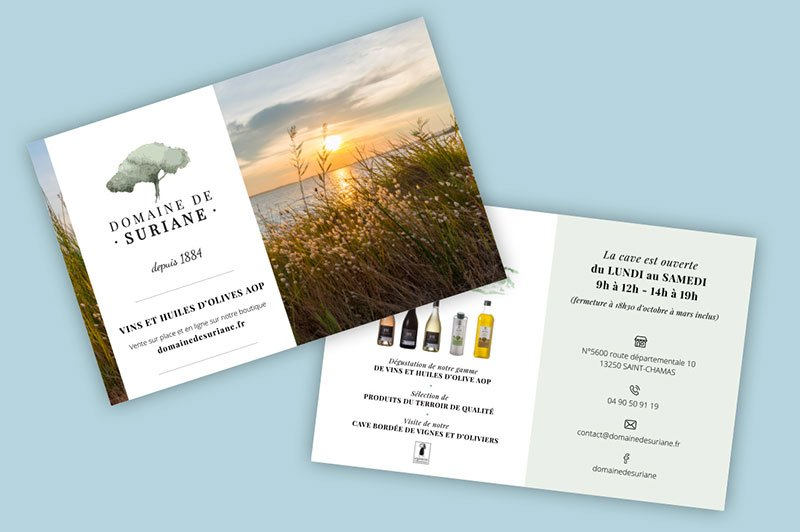 creation-impression-flyers-domaine-suriane-vignoble-traitsimple