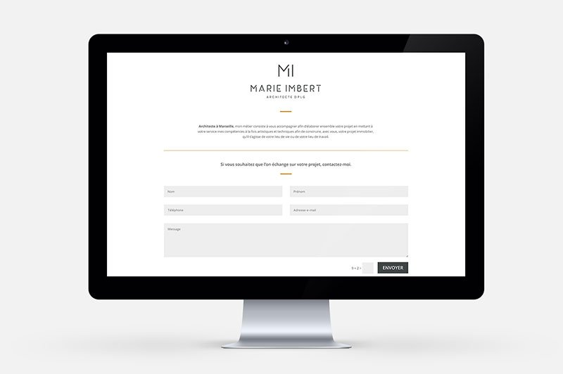 web-design-responsive-landing-page-architecte-marie-imbert-trait-simple