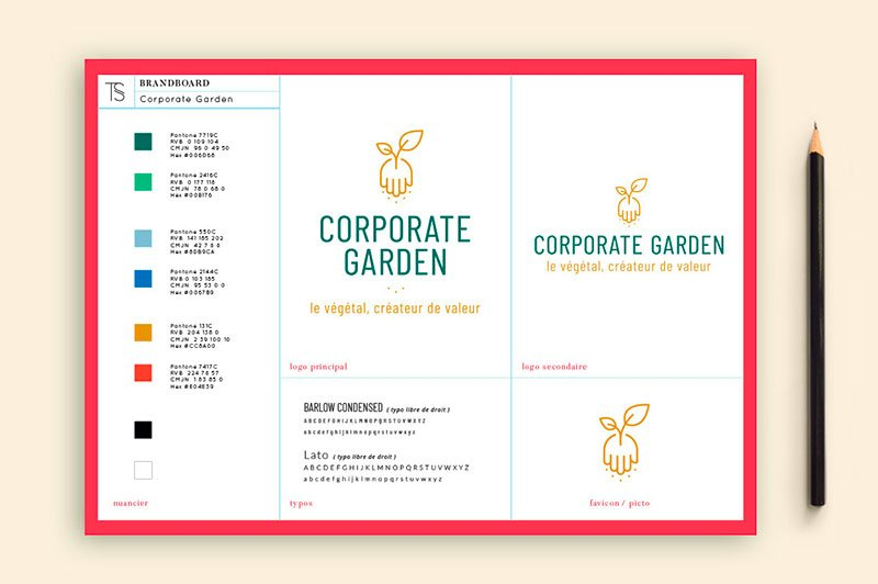 identite-visuelle-marque-traitsimple-corporate-garden